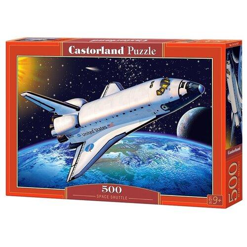 Пазл Castorland Space Shuttle (B-52707), 500 дет. пазл castorland pup in pink flowers b 52233 500 дет