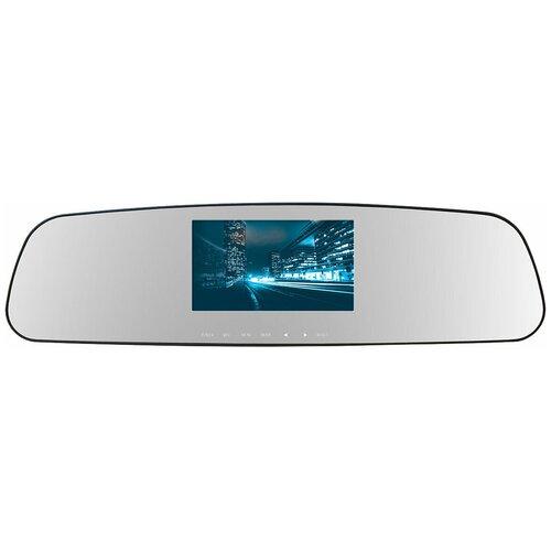 Фото - Видеорегистратор TrendVision MR-710GP, GPS видеорегистратор trendvision amirror 10 android 2 камеры gps черный