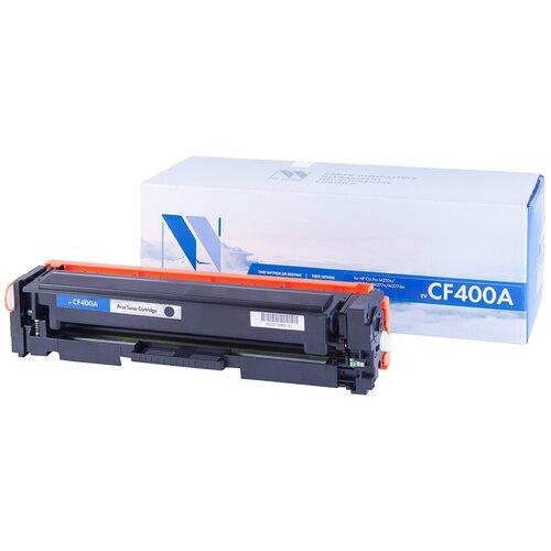 Фото - Картридж NV Print CF400A для HP, совместимый картридж nv print cf400a для hp совместимый