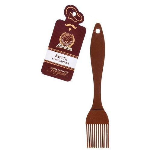 Кисточка кулинарная силиконовая 17*3 см, цвет в ассортименте MARMITON /144/36 (16060)