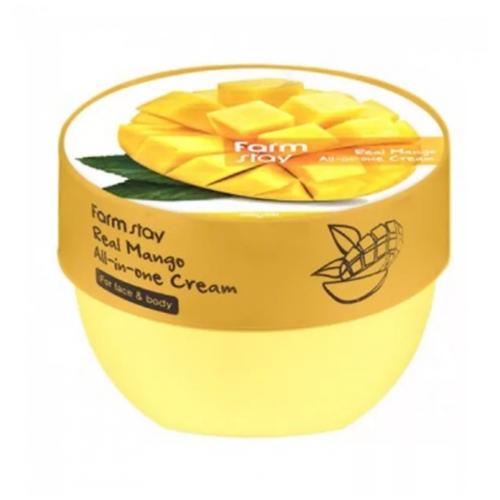 Многофункциональный крем для лица и тела FARM STAY Real Mango All-In-One Cream 300 мл.
