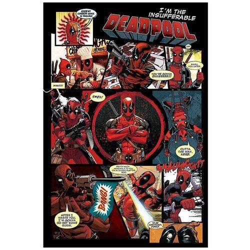 Постер Pyramid International Deadpool: Panels 61х91.5 см плакат deadpool panels 59