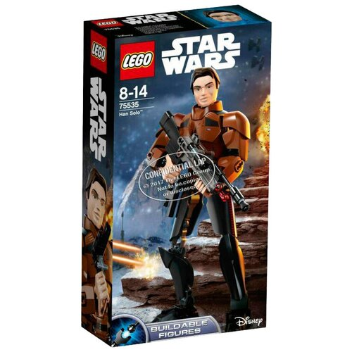 Конструктор LEGO Star Wars 75535 Хан Соло ландерс э star wars приключения хана соло