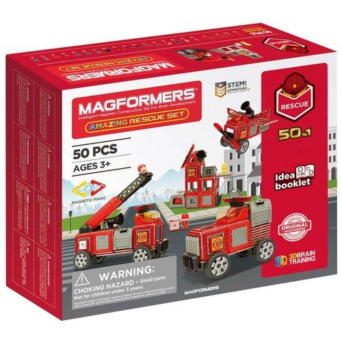 Фото - Конструктор Magformers Amazing 717003 Rescue Set конструктор magformers my first 63144 желтый багги