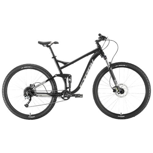Горный (MTB) велосипед STARK Tactic 29.5 HD FS (2020) черный/серебристый 22 (требует финальной сборки)