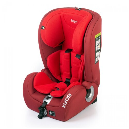 Автокресло группа 1/2/3 (9-36 кг) Comsafe MasterGuard, red автокресло comsafe masterguard cs004 black