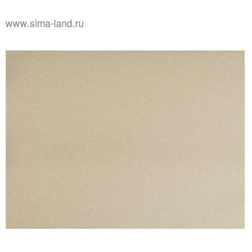 Набор картон переплетный 2.5 мм 30*40 см 1500 г/м² 10л серый 5110005