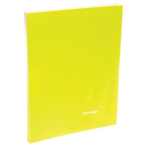 Фото - Berlingo Папка с 20 вкладышами Neon A4, 14 мм, 700 мкм, пластик желтый berlingo папка с 20 вкладышами neon a4 14 мм 700 мкм пластик зеленый