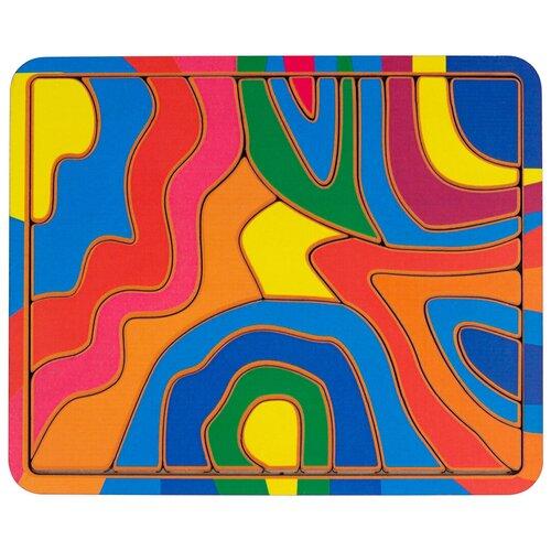 Рамка-вкладыш PAREMO Волна (PE720-42), 21 дет. красный/желтый/синий