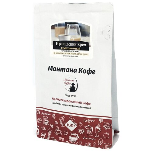 Кофе молотый Монтана Ирландский крем ароматизированный, 100 г