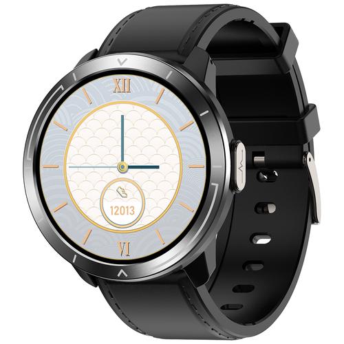Часы Smart Watch M18plus GARSline черные (ремешок черная кожа)