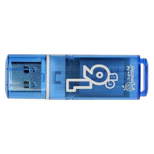 Фото - USB Flash Drive 16Gb - Smartbuy Glossy Blue SB16GBGS-B smartbuy usb drive 16gb lara red sb16gblara r