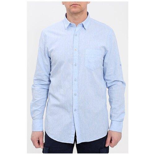 Рубашка F5 размер XXXL голубой