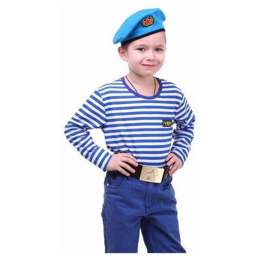 Купить Детский костюм военного Страна Карнавалия ВДВ , рост 116 см (2021390), Карнавальные костюмы