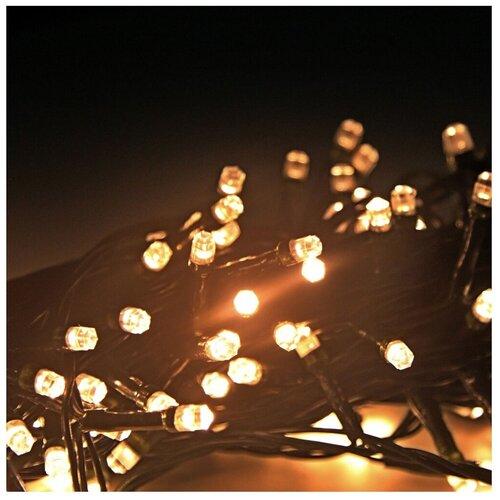 Гирлянда Sh Lights 1200 см, DC-LD120, 120 ламп, медные диоды/зеленый провод