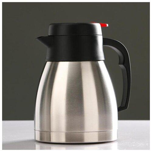 Фото - Термос-кофейник Ларна 1,2 л, сохраняет тепло 8 ч, 16.5х18.5 см 5129828 термос колумб 4 л сохраняет тепло 24 ч 15х39 8 хром 5256200