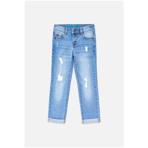 Купить Джинсовые брюки для мальчиков размер 116, голубой, ТМ Acoola, арт. 20120160300, Джинсы
