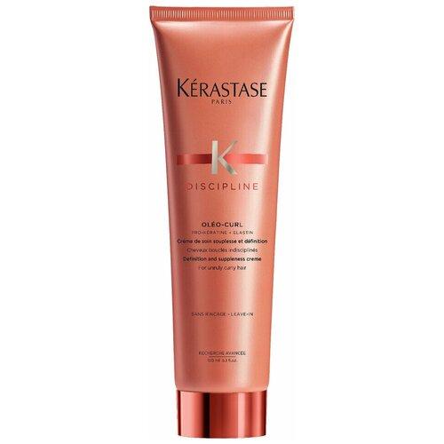 Фото - Kerastase Discipline Несмываемый крем-уход для вьющихся волос, 150 мл 64 kerastase mousse bouffante