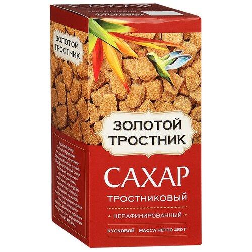 Фото - Сахар Золотой тростник тростниковый кусковой, 450 г сахар темный dansukker кусковой 500 г