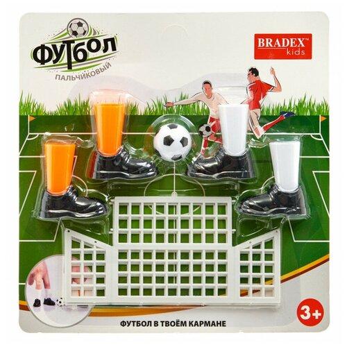 Фото - Игра настольная BRADEX Пальчиковый футбол DE 1167 настольные игры bradex настольная игра пальчиковый футбол