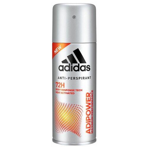Антиперспирант спрей Adidas Adipower, 150 мл дезодорант антиперспирант спрей adidas 6 в 1 150 мл