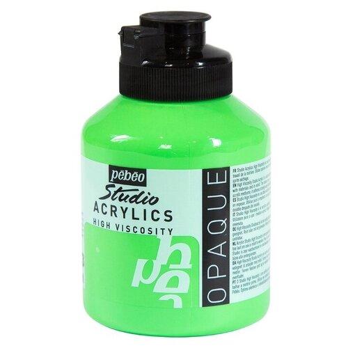 Купить Pebeo Краска акриловая Studio Acrylics, 500 мл кадмий зеленый, Краски