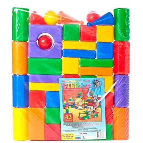 Фото - Кубики Строим вместе счастливое детство Стена-2 5248 кубики строим вместе счастливое детство набор 2 5253