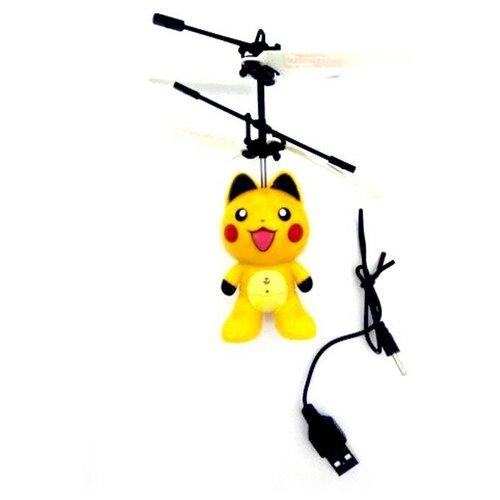 Радиоуправляемая игрушка - вертолет Пикачу Robocar Poli HM820A-P, Silverlit, Роботы и трансформеры  - купить со скидкой