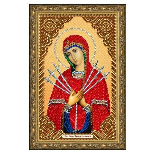 Купить Алмазная живопись иконы Color Kit Пресвятая Богородица Семистрельная 20х30, Алмазная вышивка