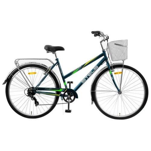 """Городской велосипед STELS Navigator 350 Lady 28 Z010 (2021) морская волна 20"""" (требует финальной сборки)"""