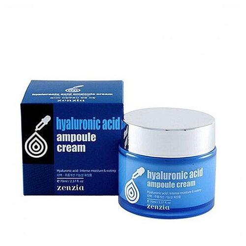 Увлажняющий крем для лица с гиалуроновой кислотой Джигот- JIGOTT zenia hyaluronic acid ampoule cream la miso ampoule cream hyaluronic крем для лица с гиалуроновой кислотой 50 г