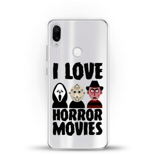 Силиконовый чехол Фильмы Ужасов на Xiaomi Redmi Note 7