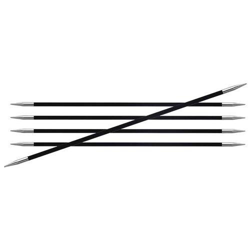 Спицы Knit Pro Karbonz 41104, диаметр 1.75 мм, длина 15 см, черные