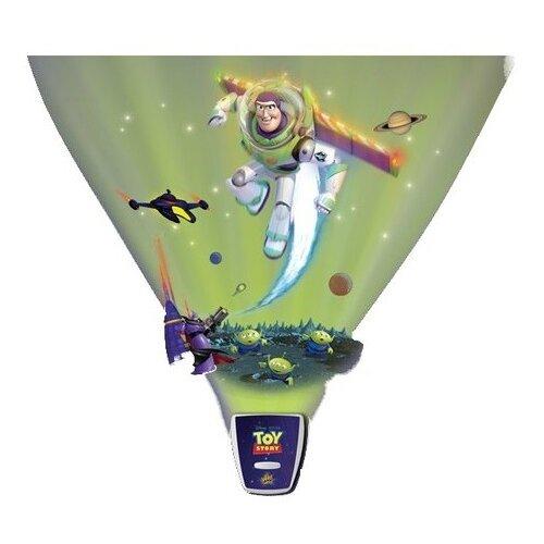Ночник-проектор Uncle Milton История игрушек - Звездная команда, цвет арматуры: синий, цвет плафона: синий