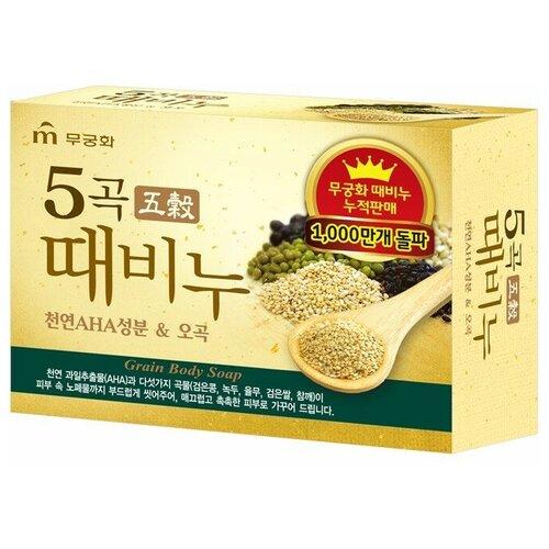 Скраб-мыло для тела Mukunghwa Grain Body Soap с 5 злаками, 100 г