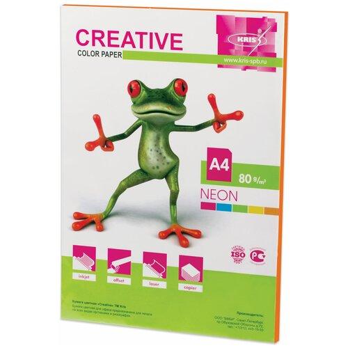 Фото - Бумага Creative A4 Color Neon 80 г/м² 50 лист., оранжевый 50 fantastic ideas for creative role play