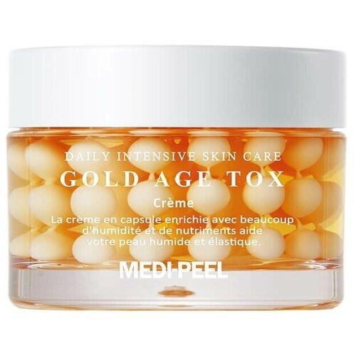 Купить Medi-Peel Gold Age Tox Cream Антивозрастной капсульный крем с экстрактом золотого шелкопряда, 50 гр