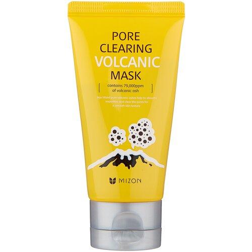 Mizon Pore Clearing Volcanic Mask очищающая маска с вулканическим пеплом, 80 г innisfree pore clearing clay mask 2x with super volcanic clusters™