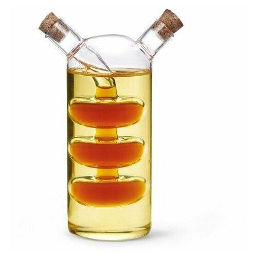 Бутылочка Fissman для масла и уксуса 2-в-1 70/240мл fissman бутылочка для масла или уксуса 150 мл прозрачный серебристый белый