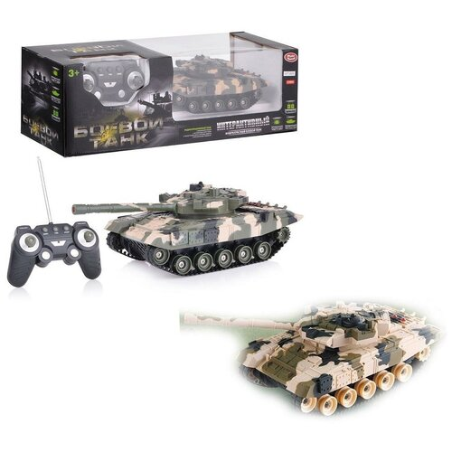 Play Smart Боевой танк на ик-управлении Play Smart Full Funk М85893