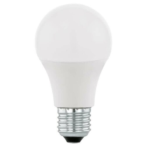 Лампа светодиодная диммируемая Eglo E27 9W 3000K матовая 11684