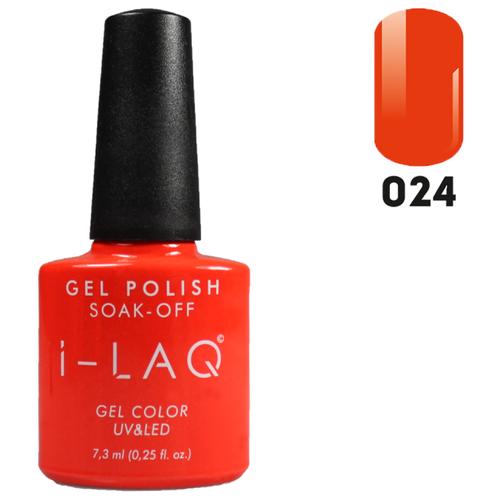 Купить Гель-лак для ногтей I-LAQ Gel Color, 7.3 мл, 024