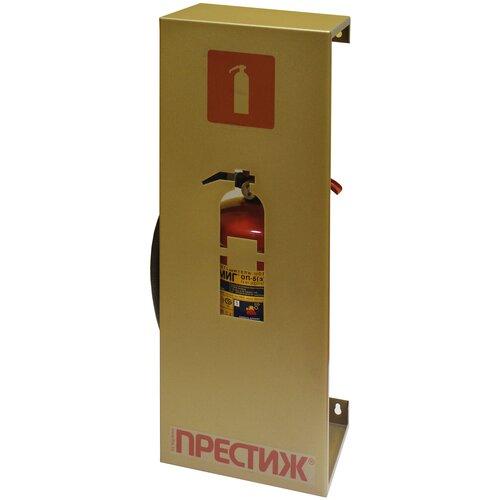 Настенная декоративная подставка для огнетушителя - цвет золото
