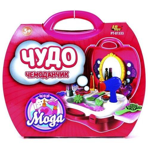 Купить Салон красоты ABtoys Чудо-чемоданчик (PT-01333), Играем в салон красоты