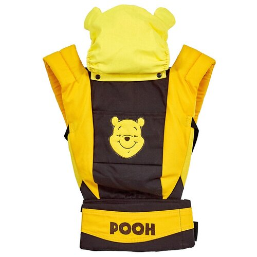 Фото - Рюкзак-переноска Polini Kids Disney baby Медвежонок Винни, коричневый/оранжевый шкаф трехсекционный polini kids disney baby медвежонок винни и его друзья белый макиато 190х135х52