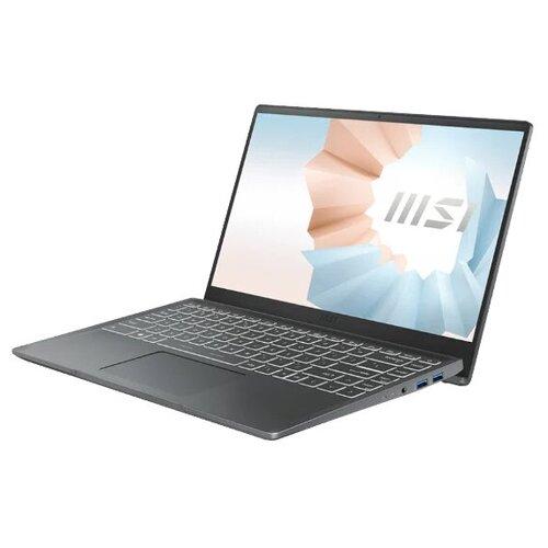 Фото - Ноутбук MSI Modern 14 B11M-034RU (9S7-14D214-034), серый ноутбук msi wf65 10tj 289ru 9s7 16r424 289 серый