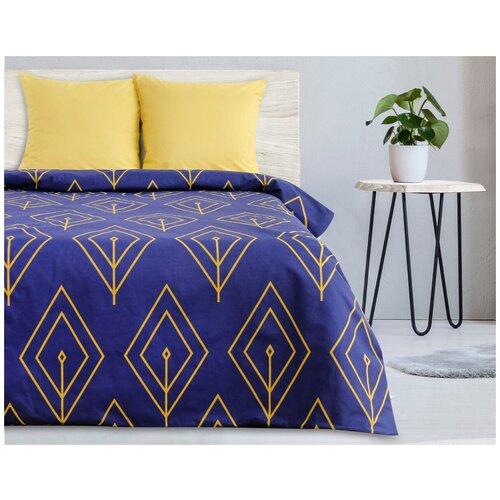 Фото - Постельное белье 2-спальное Этель Желтый лепесток, поплин, 70 х 70 см, желтый/синий этель комплект постельного белья этель red planet 2 спальное