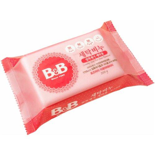 Фото - Хозяйственное мыло B&B для удаления пятен с детского белья с розмарином 0.2 кг 29uc88 b