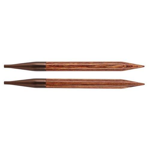 Купить Спицы Knit Pro Ginger 31206, диаметр 4.5 мм, длина 12 см, коричневый