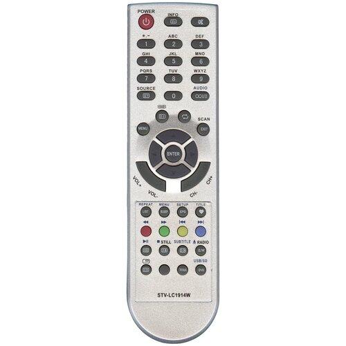 Фото - Пульт Huayu TVD34 STV-LC1914W для tv+dvd Supra пульт huayu stv lc32lt0095w для телевизора supra